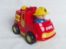Adorable My 1st Push Along 'Light up & Siren' Fire Engine Toy